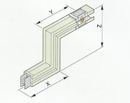 桥架弯头的做法图解 直角变
